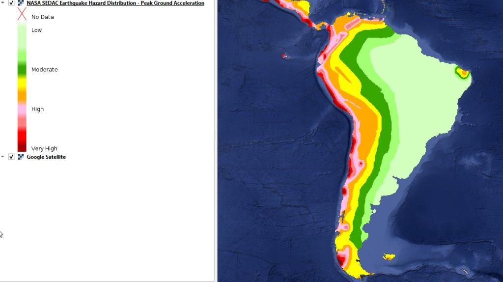 mapa base de peligrosidad sísmica